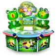 青蛙乐园3P敲打游戏机