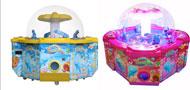 体验型儿童类游艺机台推荐:彩虹乐园游戏机