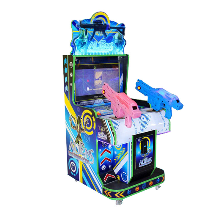 异形双枪儿童游戏机