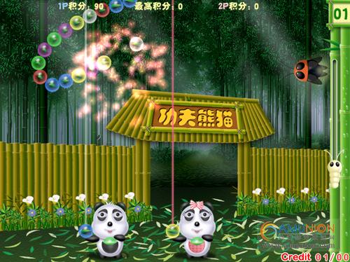 功夫熊猫游戏界面