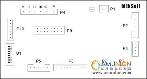宝元m520i系统分机板接线图