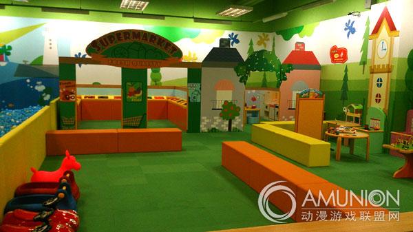 莫莉幻想游乐园和莫莉幻想亲子园(kidzooona),以森林和家人交流为主题