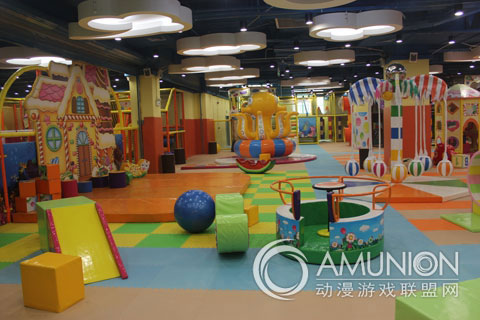 室内儿童游乐园业在我国发展非常