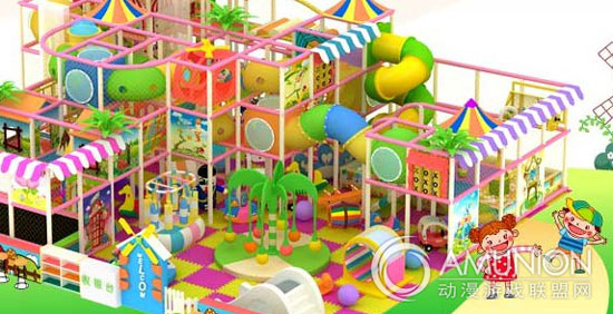 室内儿童乐园?