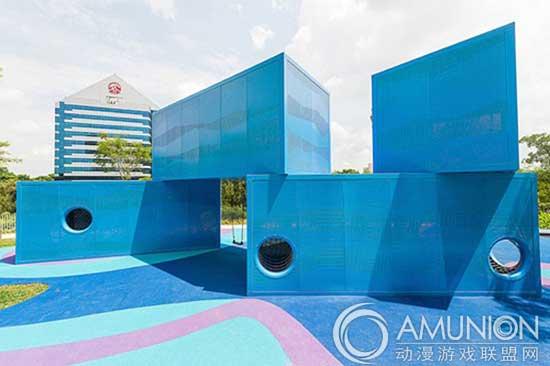 国外儿童乐园设计案例欣赏—新加坡儿童运动场