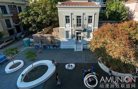 国外儿童乐园设计案例欣赏——雅典街区儿童活动中心