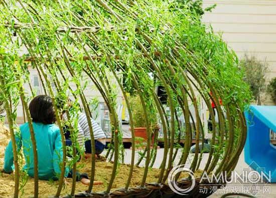 国外儿童乐园设计案例欣赏——维也纳博物馆的沙池