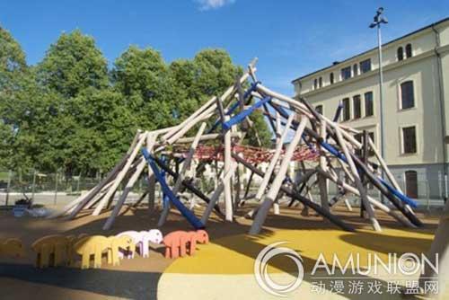 国外儿童乐园设计案例欣赏——丹麦创意儿童游乐场