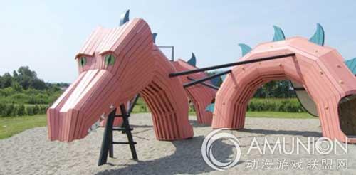 国外儿童乐园设计案例欣赏——丹麦创意儿童游乐场图片