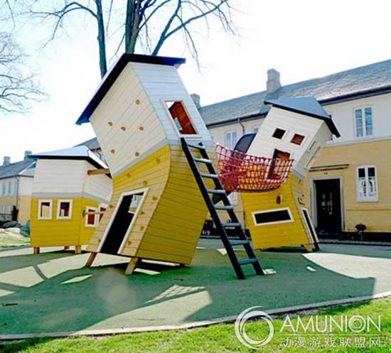 """国外儿童乐园设计案例欣赏——""""童话王国""""儿童游乐场图片"""