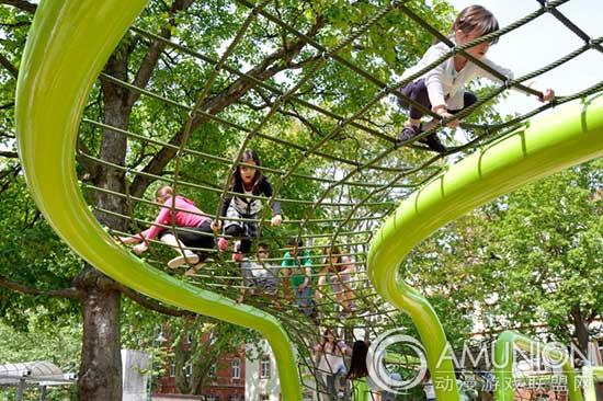 国外儿童乐园设计案例欣赏——德国雕塑游乐场