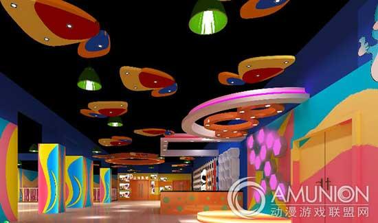 室内儿童乐园设计案例:色彩如何巧妙搭配