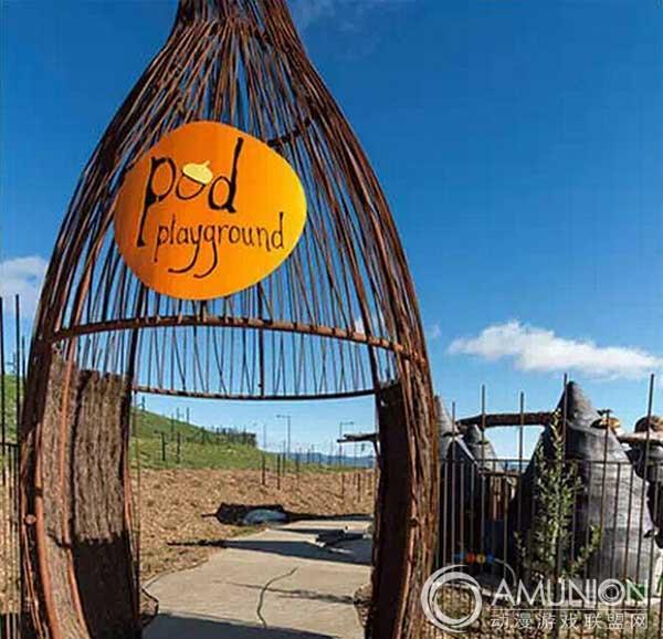 国外儿童乐园设计案例欣赏——堪培拉pod游乐场