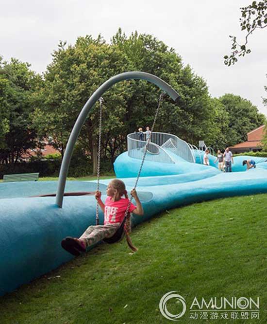 国外儿童乐园设计案例欣赏——荷兰假日游乐场