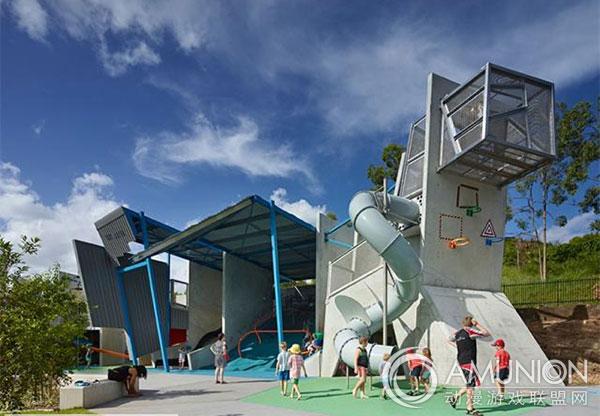 国外儿童乐园设计案例欣赏——澳大利亚竞技游乐场