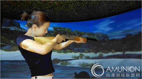 KS实感模拟射击馆:凭借绝对优势 做与众不同的