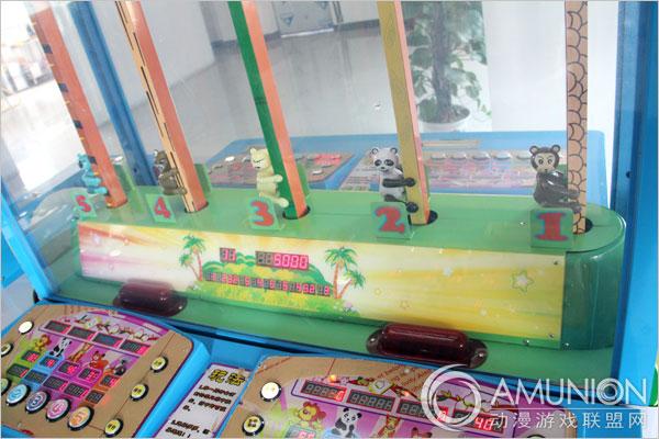 花果山传奇2游戏机五只比赛动物