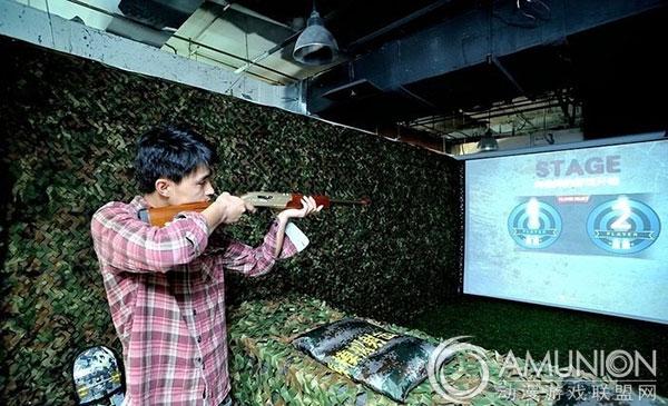 KS实感模仿射击馆