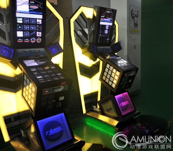 大型游戏机 音乐机 魔法x音乐游戏机    魔法x音乐游戏机具有