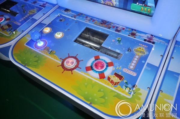 电玩游戏机 彩票机 快乐大本营游艺机    随机彩金:玩家击落任意动物