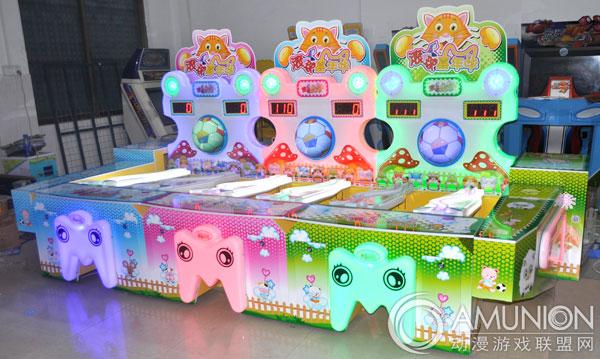 滚球嘉年华摊位游戏是星磊科技推出的一款儿童摊位