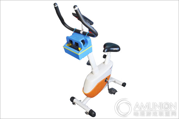 动感泡泡单车