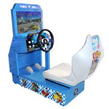 高清小环游赛车游戏机