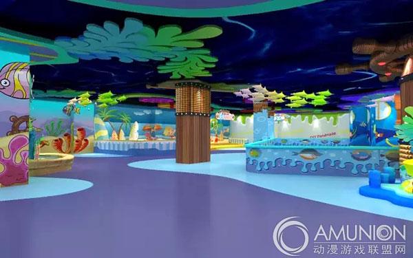 潜江海洋主题儿童乐园海底世界