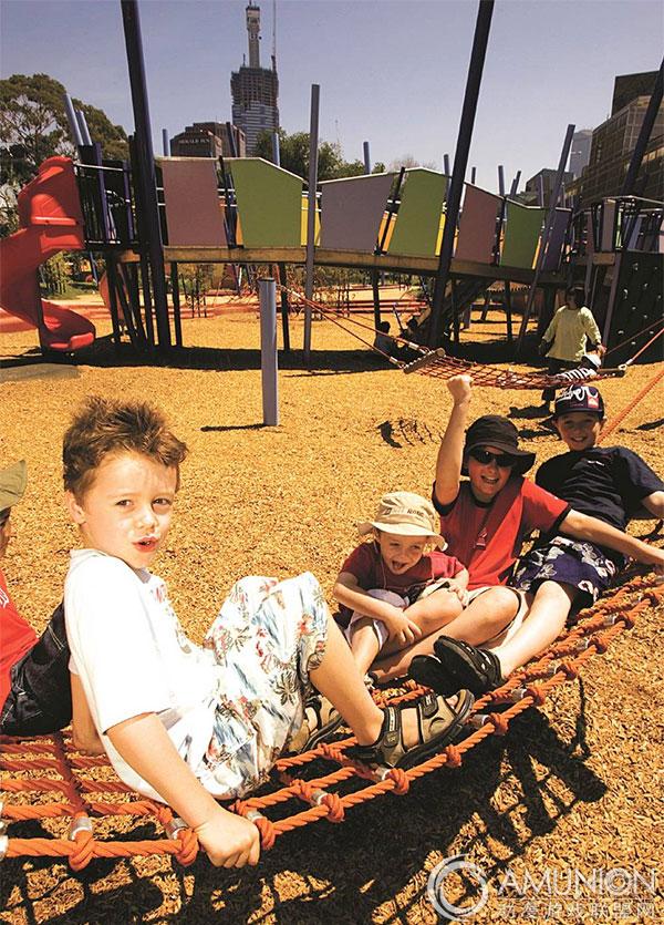 国外儿童乐园设计案例欣赏——墨尔本art play儿童艺术游乐园