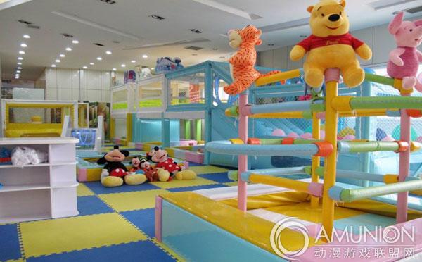 室内儿童乐园空间该怎么设计?万达宝贝王是这样做的