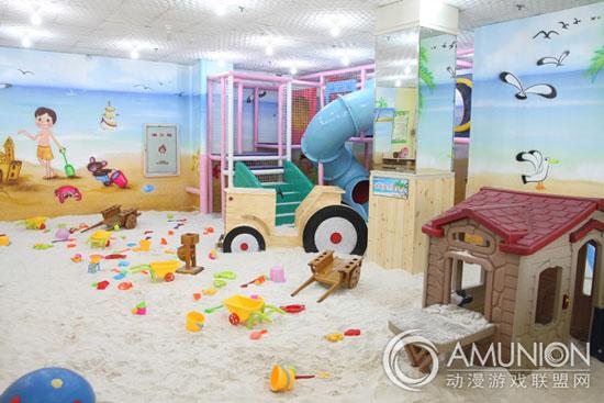 儿童乐园宣传模式