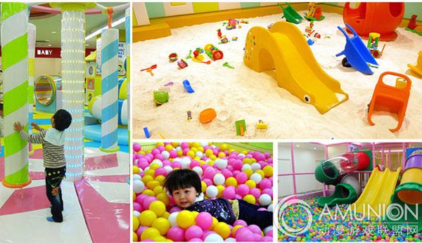 室内儿童乐园吸引更多小孩