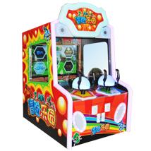 冒险乐园射球游戏机