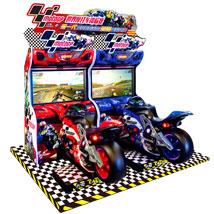 世界摩托车锦标赛赛车模拟游戏机