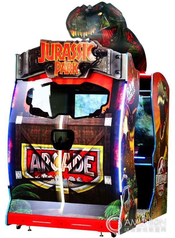 大型游戏机 枪击 侏罗纪公园游戏机    侏罗纪公园 射击游戏机是日本