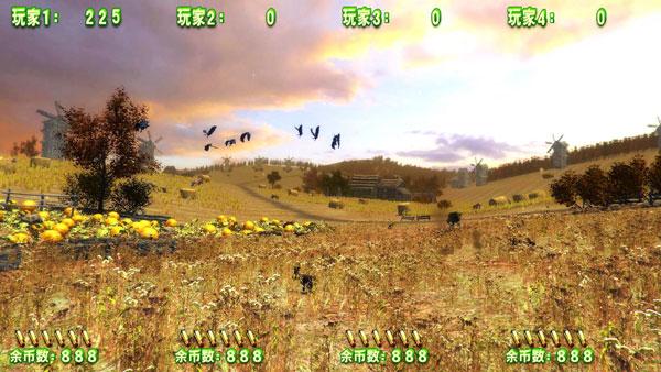 狩猎者联盟游戏机-田野场景
