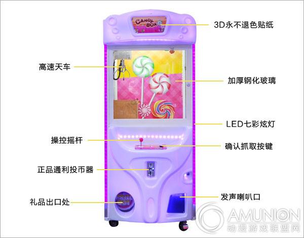 糖果屋娃娃机结构示意图
