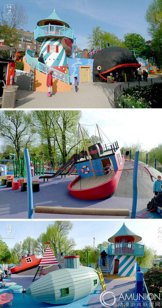 monstrum设计的疯狂儿童游乐场(多图)