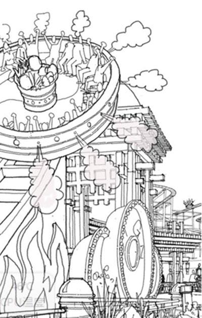 """成都万达城主题乐园图纸流出,""""疯狂火锅""""接地气!"""
