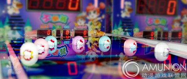 儿童乐园设备 儿童摊位游戏 不倒翁摊位机    3,玩家拿到球后往机器