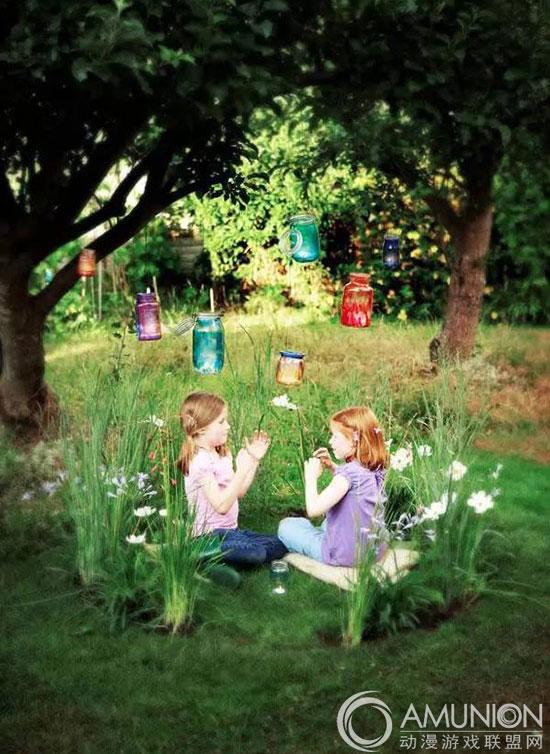 庭院里的儿童乐园微设计