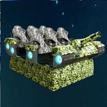 二手玖的6人VR坦克、VR视界